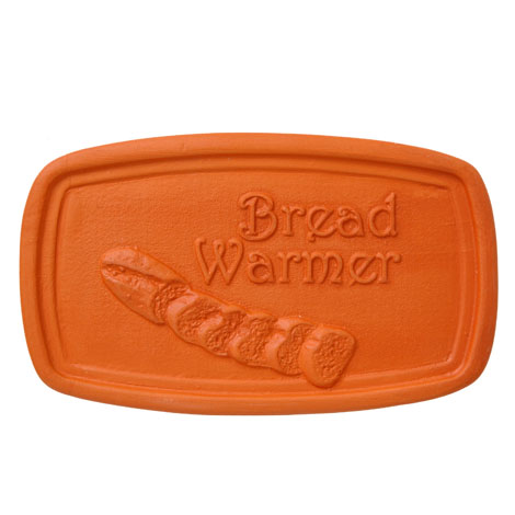 Keep your bread, buns, and baking warm during dinner with a Bread Warmer from JBK Pottery