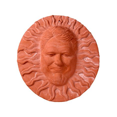 Sun Face, Sun Faces, Home Garden Decor, Mr Harley, Biker, President Bill Clinton, President George W Bush, Zero Stress, Sun Faces, sunface, Wall Decor, Home and Garden Decor, Patio Decor