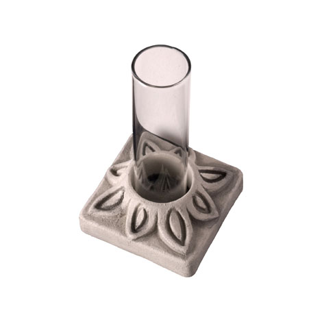 Ceramic Bud Vases - Ideal for dried or fresh flowers. Perfect hostess gifts. Several designs. Terra cotta or antique white.