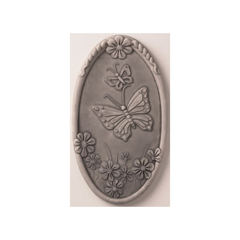 Ceramic Wall Decor Nature Tiles - Brighten your walls with Butterflies, Dragonflies, Frogs, and Morning Glories. Indoor or Outdoor.